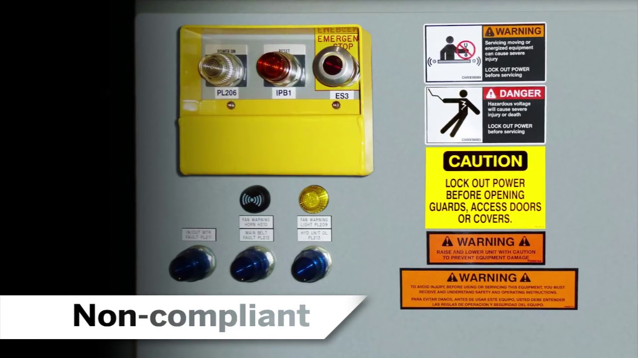 Signs Safety Risk Assessment Safety Label Risk Assessment