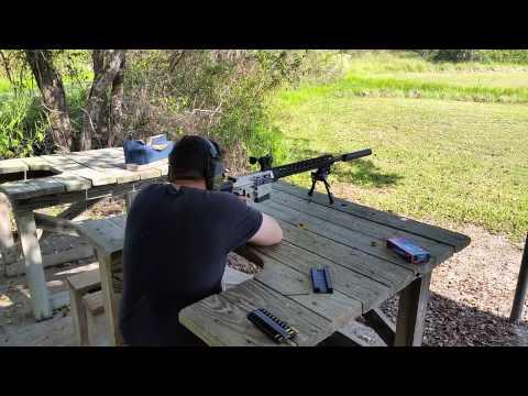 Suppressed Mega Arms Maten Test Run