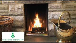 Eco friendly logs/firewood for use in fireplaces and wood burning stoves