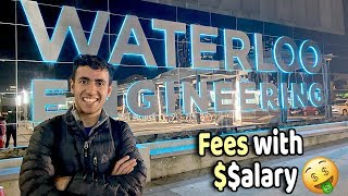 International Students Pay FEES With SALARY! Life at University of Waterloo