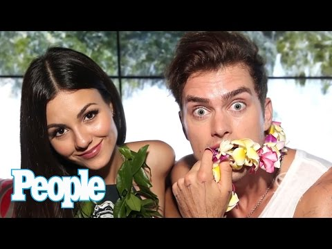 Victoria Justice Says 'It's Weird' Watching Boyfriend. Pierson Fodé Kiss Other Guys'   People Now