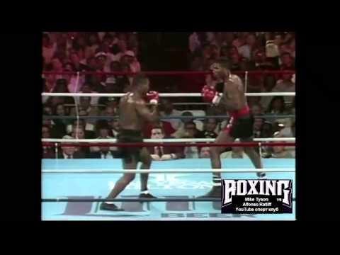 Бокс. Майк Тайсон - Альфонсо Рэтлифф. (ком. Беленький, Высоцкий)  Mike Tyson vs Alfonso Ratliff