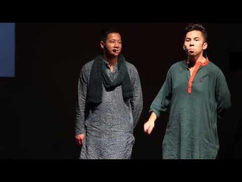 Making the first bus map of Dhaka: Stephen Kennedy & Albert Ching at TEDxDhaka