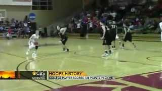 Basketball record shattered by hot-shooting guard