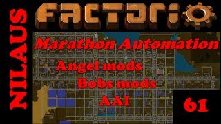 Factorio - Marathon Automation - E61 - Water Purification