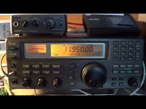 Radio Japan french via Madagascar relay 11950 khz