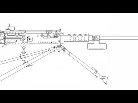 Browning M2 50 Caliber Assembly And Disassembly How To