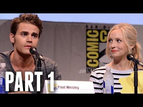 The Vampire Diaries Panel Part 1 - Comic Con 2015