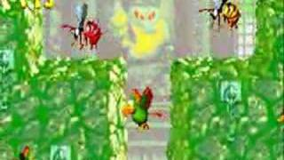 Donkey Kong Country 2 (GBA) - Toxic Tower
