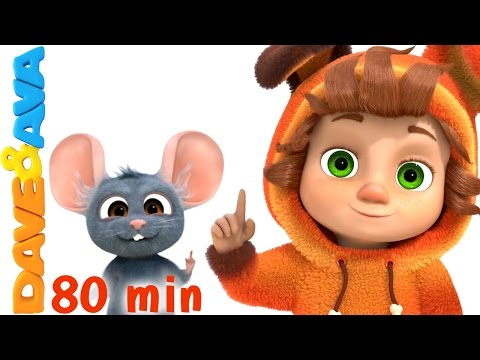 Learning Video Collection for Kids  Educational Videos and Nursery Rhymes from Dave and Ava