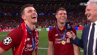 James Milner's amazing response when asked about drinking Ribena