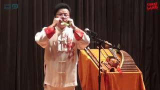 مصر العربية | صيني يعزف على ورق الشجر