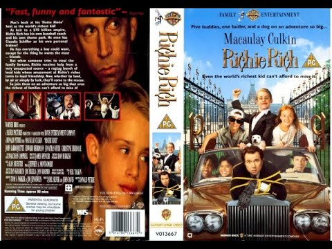Original VHS Opening: Richie Rich (1995 UK Rental Tape)