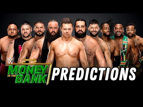 WWE MONEY IN THE BANK 2018 PREDICTIONS (Going In Raw Pro Wrestling Podcast) thumbnail