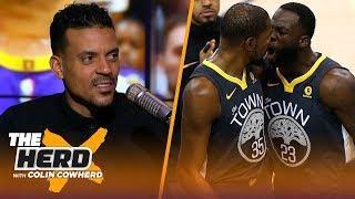 Matt Barnes on KD-Draymond confrontation, talks Kobe Bryant not flinching | NBA | THE HERD