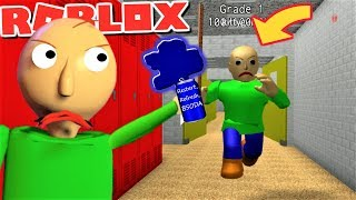 BALDI GETS CHASED BY BALDI!! IT MAKES NO SENSE!! | The Weird Side of Roblox: Baldi's Multiplayer