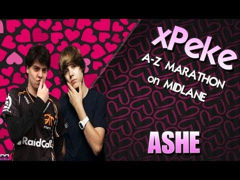 xPeke - A-Z Marathon on midlane - Ashe AP