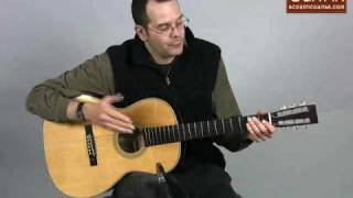Acoustic Guitar Review - Recording King ROS-626.