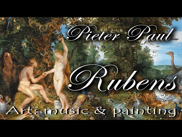 Art : Music & Painting – Rubens on Corelli Telemann and Rossini's music