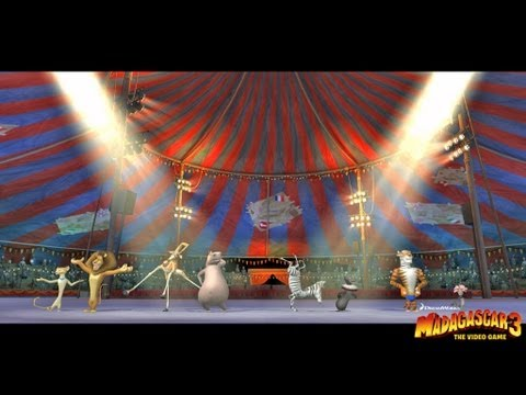 Madagascar 3 The Video Game - PS3 / X360 / Wii / NDS / N3DS - Launch Trailer (E3 2012)
