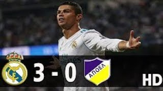 Real Madrid vs Apoel Nicosia 3-0 Extended Highlights & Goals - Champions League   13 Sep 2017