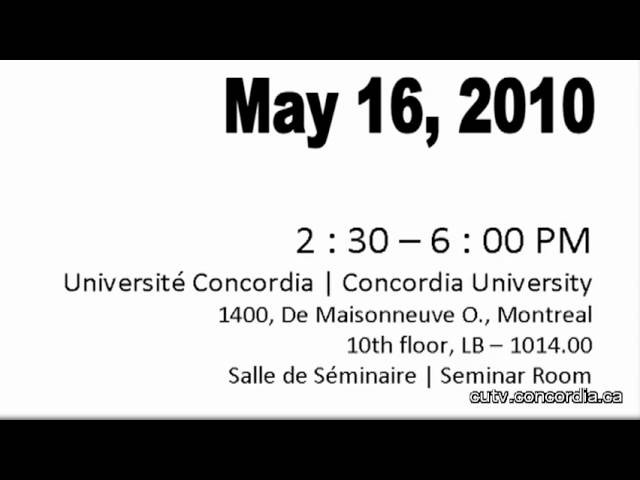 PSA for Oral History Concordia in May 30 Seconds