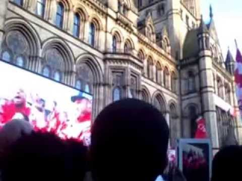 Manchester united parade