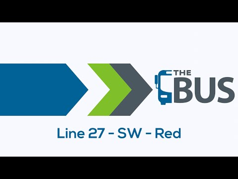 City Utilities Transit - New Bus Route - Line 27, SW, Red