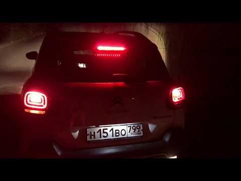 Ночной обзор Citroen C3 Aircross - космолет на галогенах