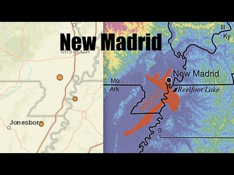 3 earthquakes in New Madrid Fault near DRY Mississippi River - Absolute perfect match with NMSZ