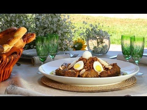Choumicha : Tajine de viande Tfaya  شميشة : طاجين اللحم بالتفاية