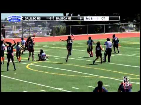 Balboa High School WINS the San Francisco Section Girls Flag Football Final