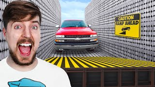 Can 20,000 Magnets Catch A Car Mid Air?
