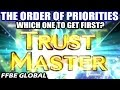 Trust Master Guide - The Order of Priorities - Which One To Get First? (FFBE Global)