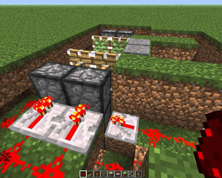 Майнкрафт как сделать ловушку для зомби 62