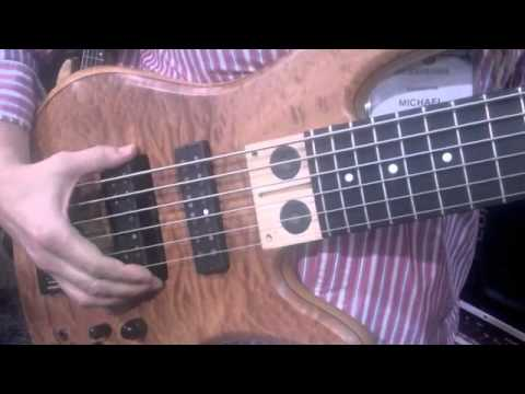 Mike Pope Signature Fodera Bass at NAMM 2011