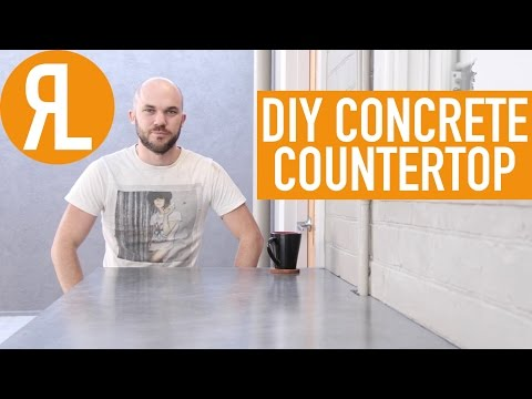 Make Your Own Concrete Countertop, It's Easier Than You Think