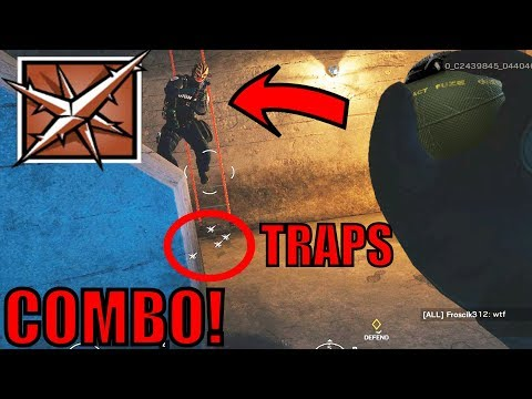 BEST LESION TACTIC! - ONE SHOT COMBO - Rainbow Six Siege Gameplay