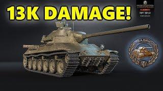 World of Tanks - TVP T 50/51 - 13K DAMAGE 6 Kills - OWNED!