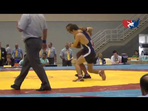 2012 Junior Worlds GR 55kg - Mike Fuenffinger (USA) vs. Serif Kilic (TUR)