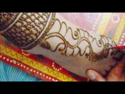 Simple Bridal Henna Mehendi Design 2013 For Foot-Indian ...