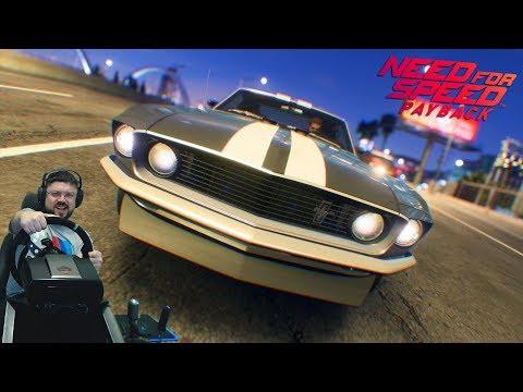 Настоящий зверюга🔥Ford Mustang Boss 302 в Need for Speed: Payback