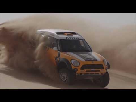 Peterhansel, Terranova, Holowczyc y Roma - MINI Dakar 2014