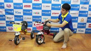 Xe đạp 3 bánh Mamago B616 MMG
