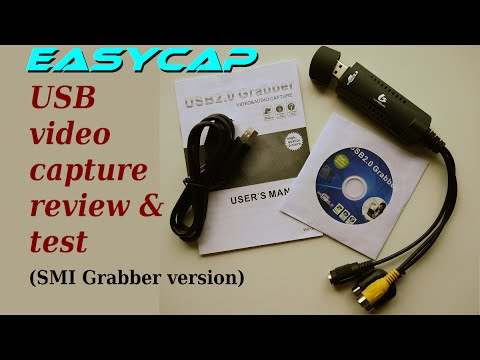 EasyCap USB video capture review & test (SMI Grabber version)