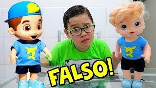 BONECO DO LUCCAS NETO! FOI FALSIFICADO?
