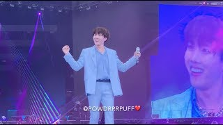 190602 - Trivia 起: Just Dance - BTS 방탄소년단 - Speak Yourself Tour - Wembley Day 2 - HD Fancam 직캠