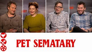 PET SEMATARY (2019) Interviews with Jason Clarke & Cast