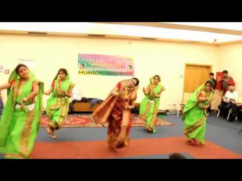 Dhaker Tale Komor Dole  -  Munich Durga Puja 2012 video