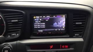 Kia Optima with Aftermarket Radio